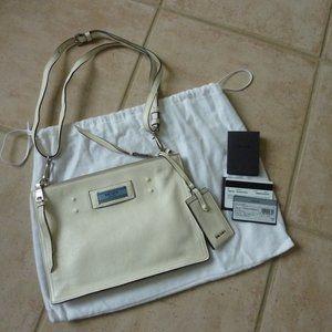 PRADA Etiquette Glace Logo Shoulder Crossbody Bag